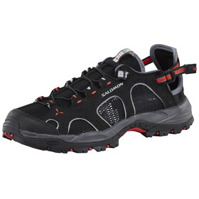 Salomon Techamphibian 3 Water Shoes Women black/dark cloud/papaya